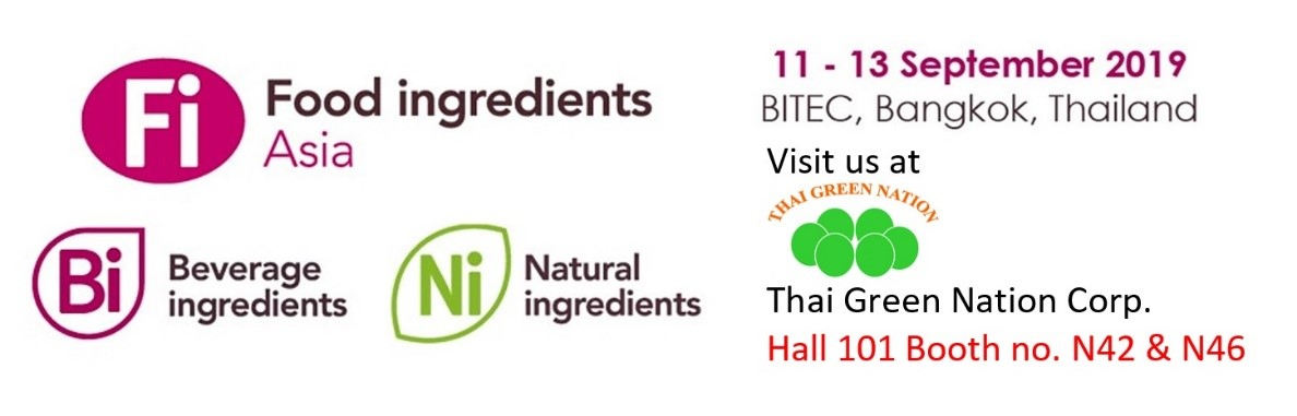 Food Ingredients Asia 2019_© 2019 Thai Green Nation Corporation Co